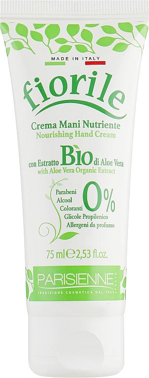 Crema de manos con extracto de aloe vera biológico - Parisienne Italia Fiorile Aloe Vera Hand Cream