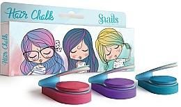 Perfumería y cosmética Tiza para cabello infantil, 3uds. - Snails Mini Bebe