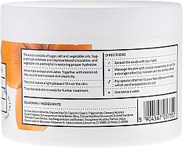 Exfoliante corporal con extracto de yerba mate & aceite de monoi - Vis Plantis Sugar & Salt Body Scrub — imagen N3