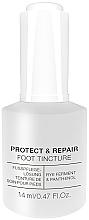 Perfumería y cosmética Tintura protectora y reparadora de uñas con alcohol y pantenol - Alessandro International Spa Protect & Repair Foot Tincture