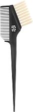 Perfumería y cosmética Aplicador de tinte profesional de doble cara, L 225/65mm - Tinting Brush Line