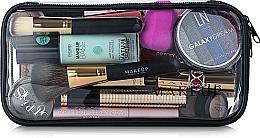 Perfumería y cosmética Neceser cosmético, transparente (25x12x8cm) - MakeUp Visible Bag (sin contenido)