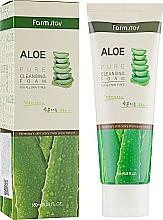 Perfumería y cosmética Espuma facial limpiadora con extracto de aloe vera - FarmStay Pure Cleansing Foam Aloe