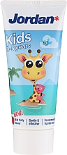 Perfumería y cosmética Pasta dental infantil jirafa de 0-5 años - Jordan Kids Toothpaste