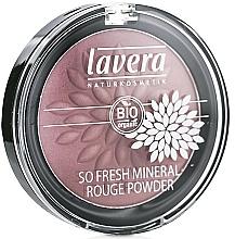 Perfumería y cosmética Colorete mineral bio orgánico - Lavera So Fresh Mineral Rouge Powder