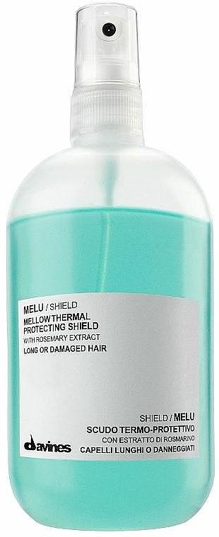 Spray protector térmico de cabello con extracto de romero - Davines Mellow Thermal Protecting Shield — imagen N1