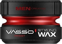 Perfumería y cosmética Cera para cabello de fijación muy fuerte - Vasso Professional Hair Styling Wax Resist