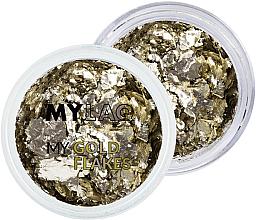 Perfumería y cosmética Decoración de uñas acabado dorado - MylaQ My Gold Flakes