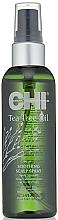 Perfumería y cosmética Spray calmante para cuero cabelludo con aceite de árbol de té - CHI Tea Tree Oil Soothing Scalp Spray
