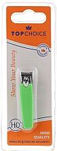 Perfumería y cosmética Cortauñas 76947, verde neon - Top Choice Colours Nail Clippers