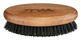 Perfumería y cosmética Cepillo para barba y bigote de madera - Zew Brush For Beard And Mustache