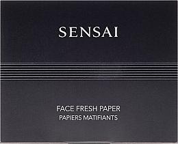 Papel facial matificante - Kanebo Sensai Face Fresh Paper — imagen N1