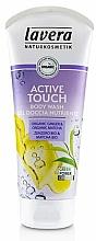 """Perfumería y cosmética Gel de ducha perfumado - Lavera Body Wash Active Touch """"Organic Ginger & Organic Matcha"""""""