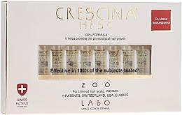 Perfumería y cosmética Tratamiento en ampollas para recuperación de cabello con cistina y lisina 200 - Labo Crescina HFSC Re-Growth 200