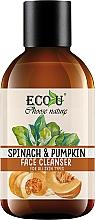 Perfumería y cosmética Gel natural de limpieza facial con espinacas y calabaza - Eco U Pumpkins And Spinach Face Cleanser