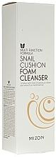 Perfumería y cosmética Espuma de limpieza facial con baba de caracol - Mizon Snail Cushion Foam Cleanser