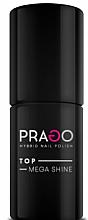 Perfumería y cosmética Top coat híbrido - Prago Top Mega Shine