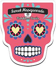Perfumería y cosmética Mascarilla facial de tejido para pieles maduras a base de frutas rojas con extracto de frambuesa - Dr Mola Sweet Masquarade Red&Pink Fruits mask