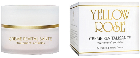 Crema de noche revitalizante - Yellow Rose Cellular Revitalizing Cream