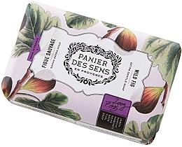 Perfumería y cosmética Jabón suave con manteca de karité, aroma a higo silvestre - Panier Des Sens Extra Gentle Natural Soap with Shea Butter Wild Fig
