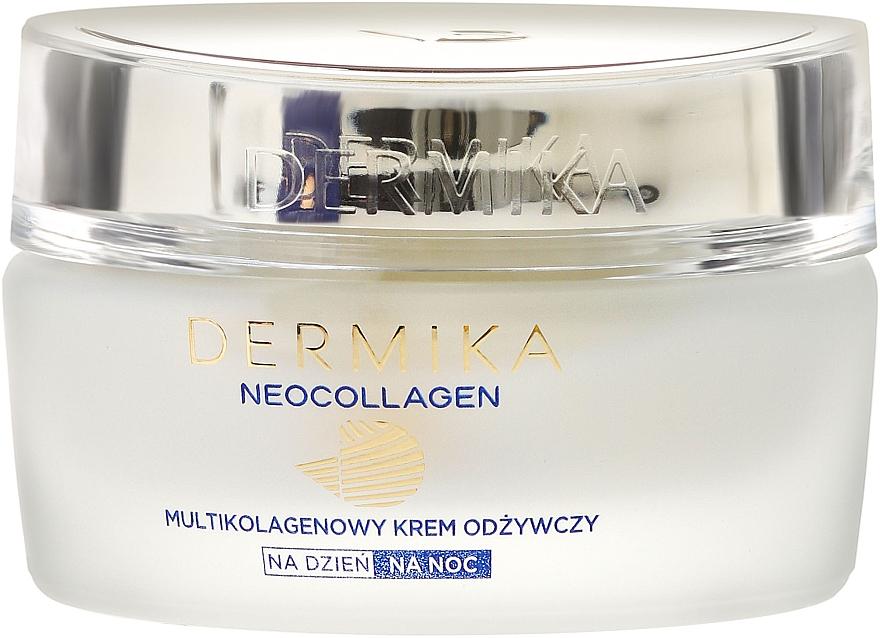 Crema nutritiva facial con aceite de macadamia & extracto de alga - Dermika Neocollagen Cream +70 — imagen N2