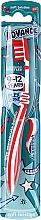 Perfumería y cosmética Cepillo dental suave de 9 a 12 años, rojo - Aquafresh Advance Soft