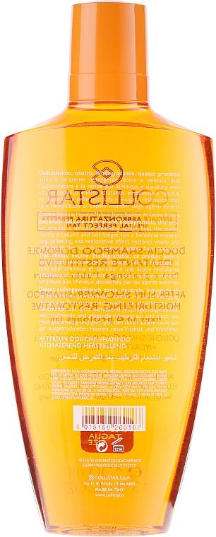 Champú reparador aftersun para cabello y cuerpo - Collistar Dopo-Sole Doccia-Shampoo Idratante Restitutivo — imagen N2
