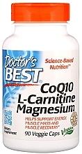 Perfumería y cosmética Complemento alimenticio en cápsulas de L-Carnitina, magnesio y coenzima Q10 - Doctor's Best CoQ 10 L-Carnitine Magnesium
