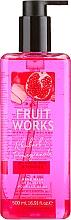 Perfumería y cosmética Jabón líquido, ruibarbo & granada - Grace Cole Fruit Works Hand Wash Rhubarb & Pomegranate