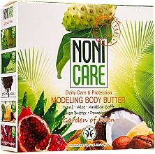 Perfumería y cosmética Manteca corporal modeladora adelgazante con extracto de noni, aloe y café - Nonicare Garden Of Eden Modeling Body Butter