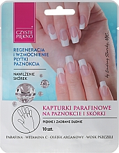 Perfumería y cosmética Mascarilla guantes para manos y uñas con vitamina C - Czyste Piekno