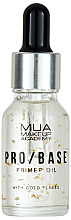 Perfumería y cosmética Prebase de maquillaje iluminadora con copos de oro - Mua Pro/ Base Primer Oil With Gold Flakes