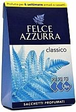 Perfumería y cosmética Sobres aromáticos para ropa, clásico - Felce Azzurra Sachets Classic