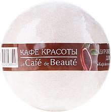 """Perfumería y cosmética Bomba de baño """"sorbete de chocolate con cafeína"""" - Le Cafe de Beaute Bubble Ball Bath"""