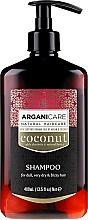 Perfumería y cosmética Champú con aceite de argán & coco - Arganicare Coconut Shampoo For Dull, Very Dry & Frizzy Hair
