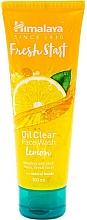 Perfumería y cosmética Gel limpiador facial con limón - Himalaya Herbals Fresh Start Oil Clear Face Wash