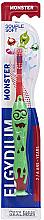 Perfumería y cosmética Cepillo dental extra suave, rojo - Elgydium Kids Monster Toothbrush