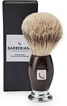 Perfumería y cosmética Brocha de afeitar - Barberians. Shaving Brush Silver Tip