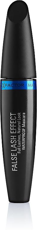 Máscara de pestañas con cepillo grande para mayor volumen resistente al agua - Max Factor False Lash Effect Waterproof — imagen N2
