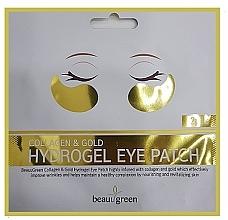 Perfumería y cosmética Mascarilla parches de ojos de colágeno y oro - BeauuGreen Collagen & Gold