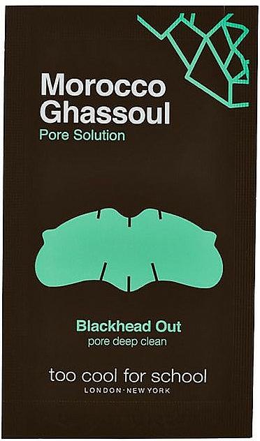 Tiras limpiadoras de poros con ghassoul marroquí y arcilla blanca - Too Cool For School Morocco Ghassoul Blackhead Out