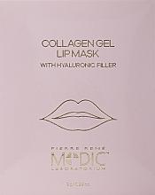 Perfumería y cosmética Mascarilla labial de hidrogel con colágeno - Pierre Rene Medic Collagen Gel Lip Mask