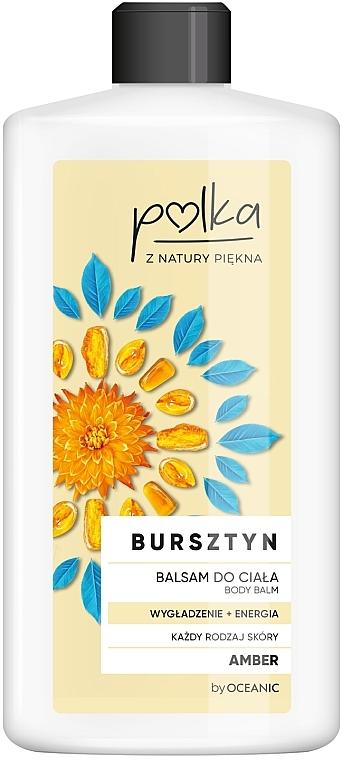 Loción corporal suavizante y energizante con ámbar - Polka Body Balm