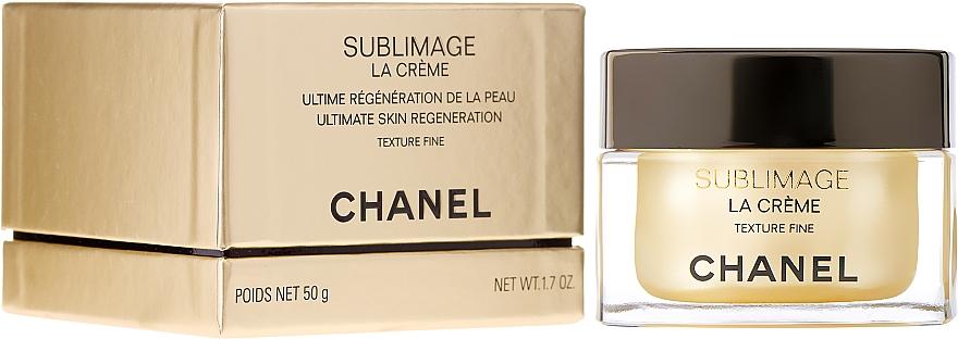 Crema facial ligera con ingredientes naturales - Chanel Sublimage La Creme Texture Fine