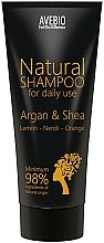 Perfumería y cosmética Champú con aceite de argán y manteca de karité - Avebio Natural Shampoo For Daily Use