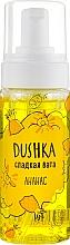 Perfumería y cosmética Espuma de ducha, piña - Dushka Pineapple Shower Foam