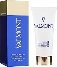 Perfumería y cosmética Crema de manos nutritiva con vitamina E para pieles secas, ásperas y agrietadas - Valmont Hand Nutritive Treatment