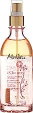 Perfumería y cosmética Aceite para masaje de pies eco con bayas rojas y agua de menta - Melvita L'Or Rose Oil