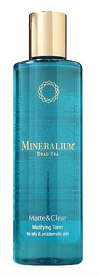 Tónico facial matificante con minerales del Mar Muerto - Minerallium Matifying Toner
