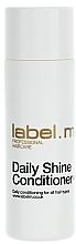 Perfumería y cosmética Acondicionador para brillo con extracto de aguacate - Label.m Daily Shine Conditioner